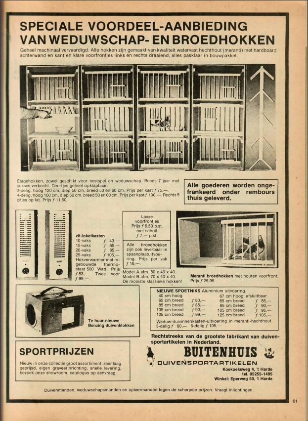 12 Neerlands Postduiven Orgaan